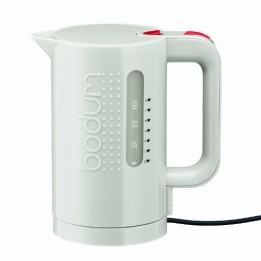 Bodum 11452-913US 34-Ounce Electric Water Kettle, White